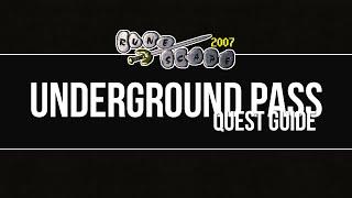 quest guide underground pass   runescape 2007