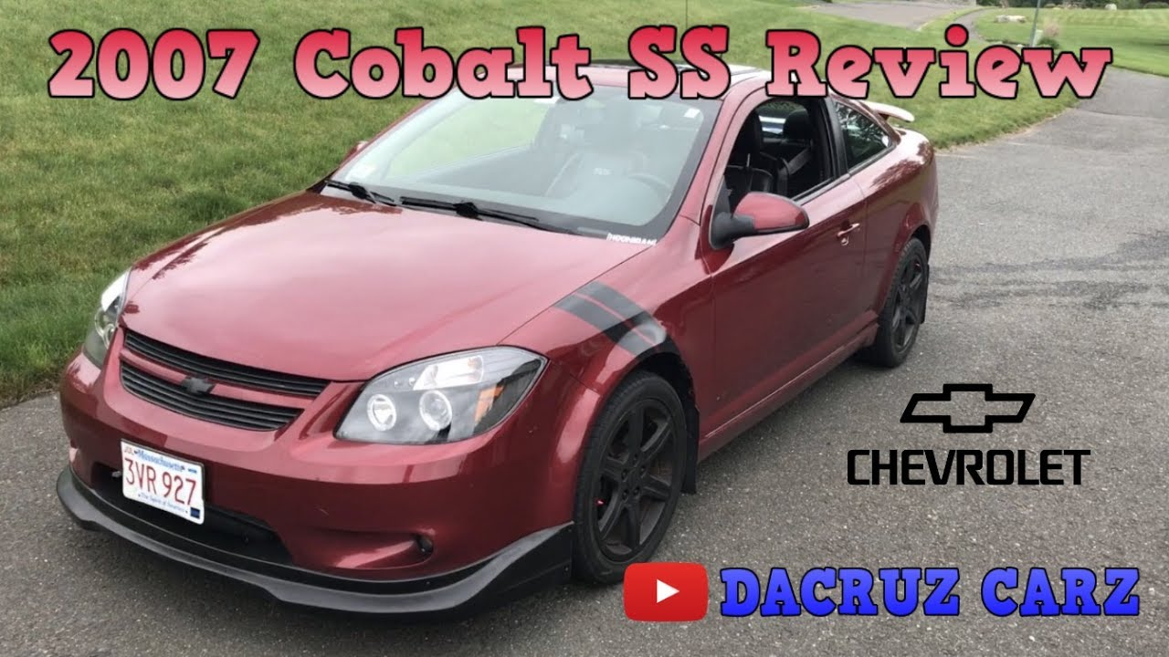 2007 chevy cobalt ss supercharged oil change