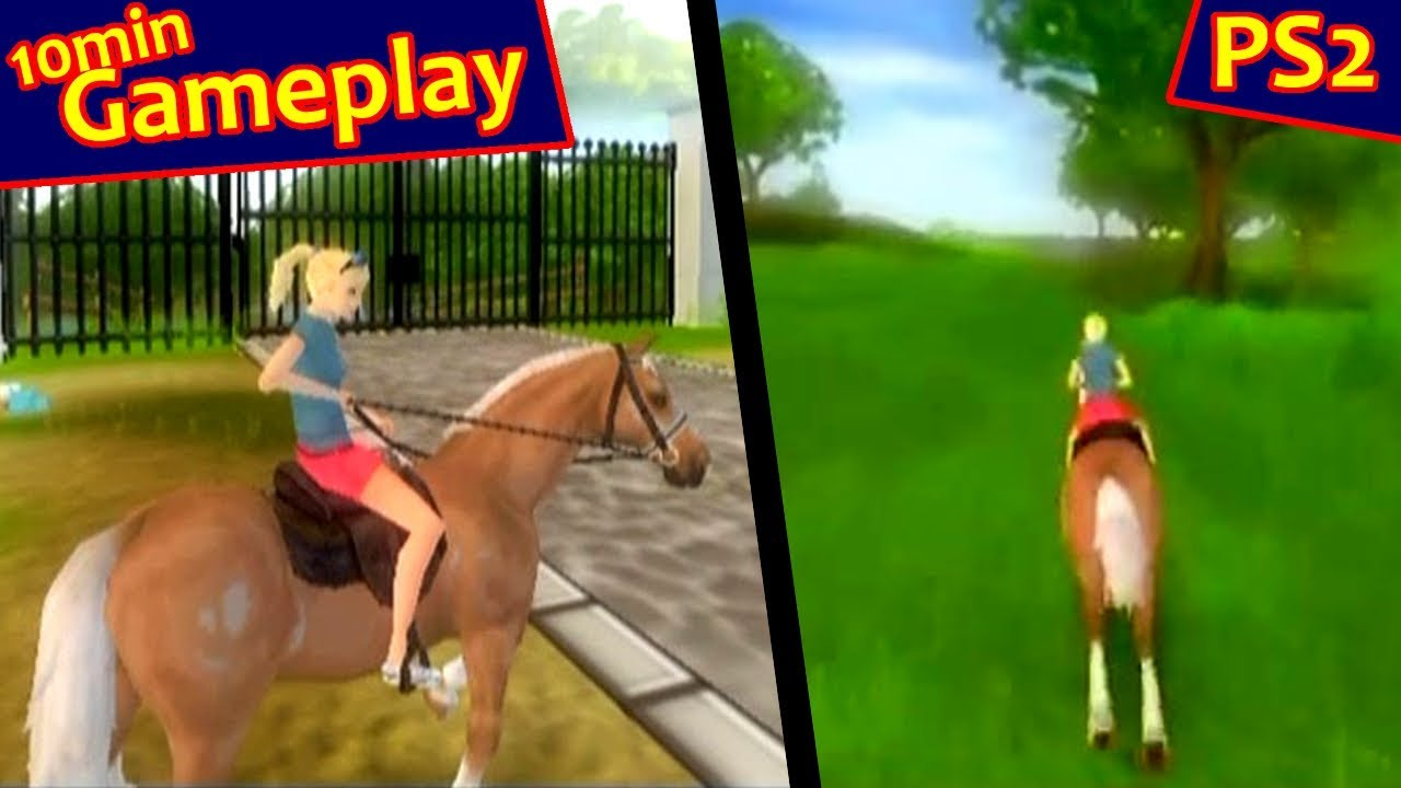 Barbie Horse Adventures Riding Camp Ps2 Youtube