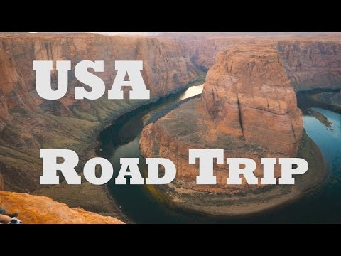 USA Road Trip - California Nevada Utah Arizona 2017