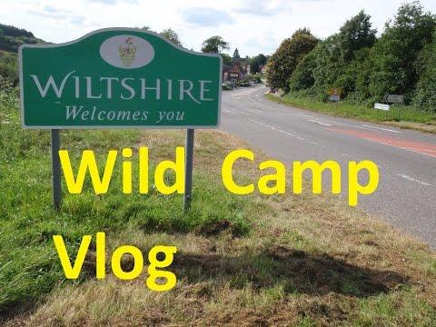 Wiltshire Wild Camp - Vlog