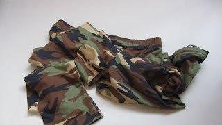 Unpack'овка #51 Камуфляжные Леггинсы (Camouflage leggings Armygreen skinny)