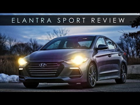 Review 2017 Hyundai Elantra Sport Logical Entertainment