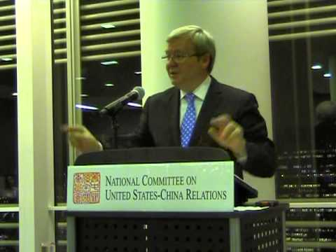 Kevin Rudd on China's New Leaders and the Global Order