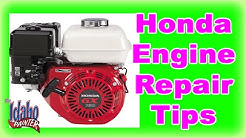 How To Fix A Honda Engine Stalling.  Honda Engine Hacks.