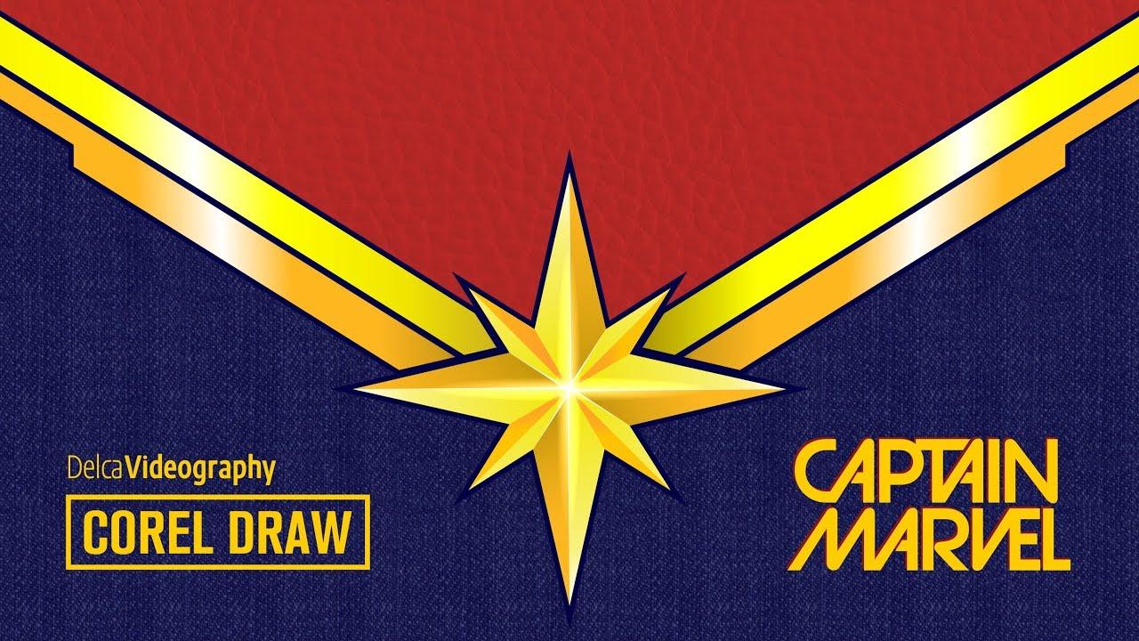 captain marvel logo en corel draw delcavideography youtube logo vector black youtube logo vector png