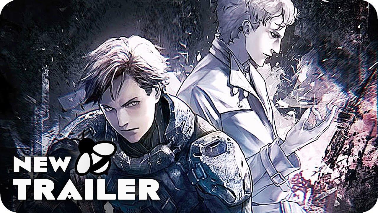 GENOCIDAL ORGAN Trailer 2017 Sci Fi Anime