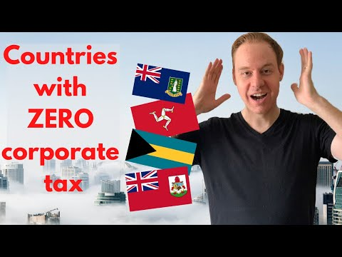 9 countries with ZERO corporate tax