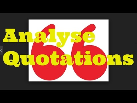How to Write About Quotations in Literature Essays, (Using Jane Eyre)