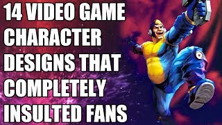 14 Video Game Character Designs That Completely Insulted Fans