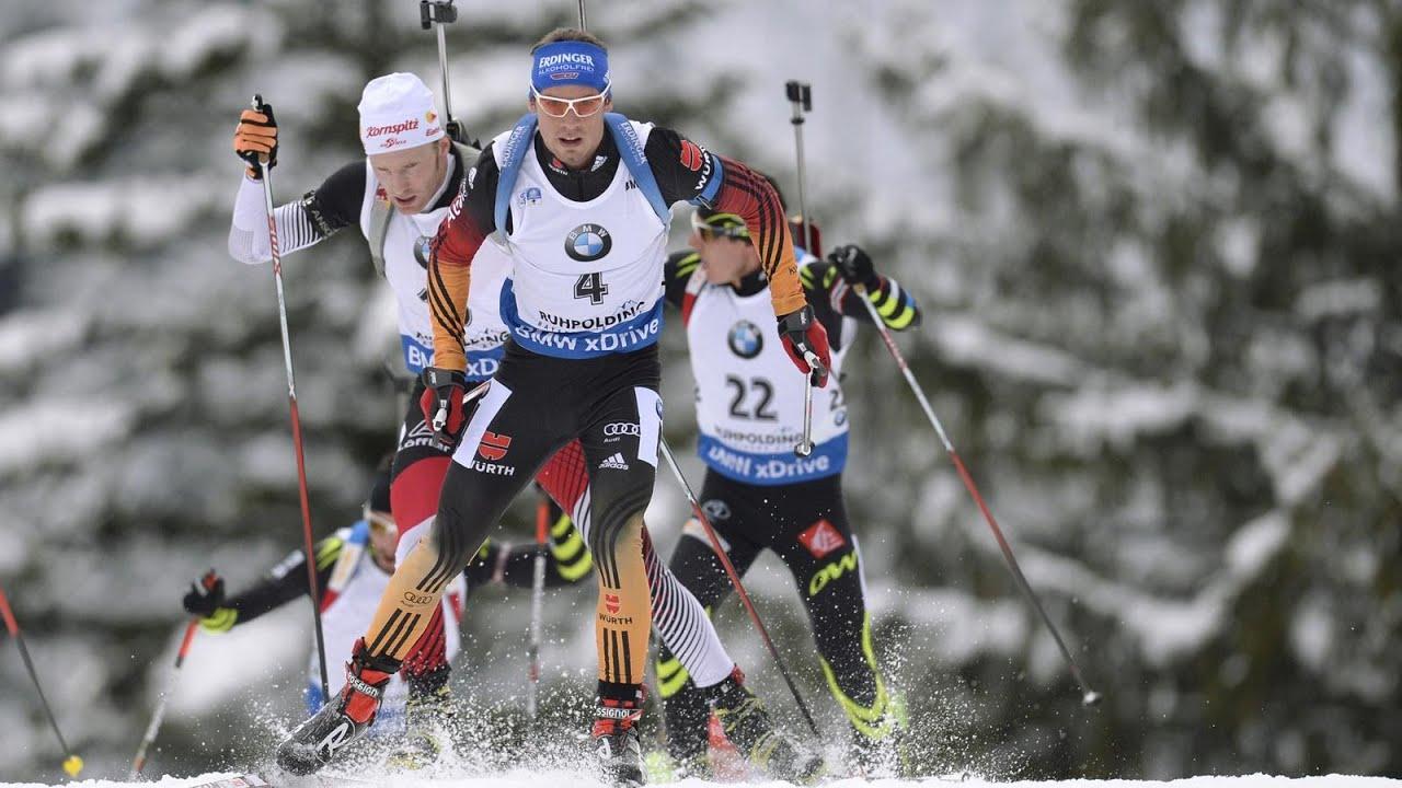 Massenstart Männer Biathlon