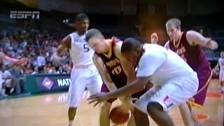 minnesota player collapsed against miami