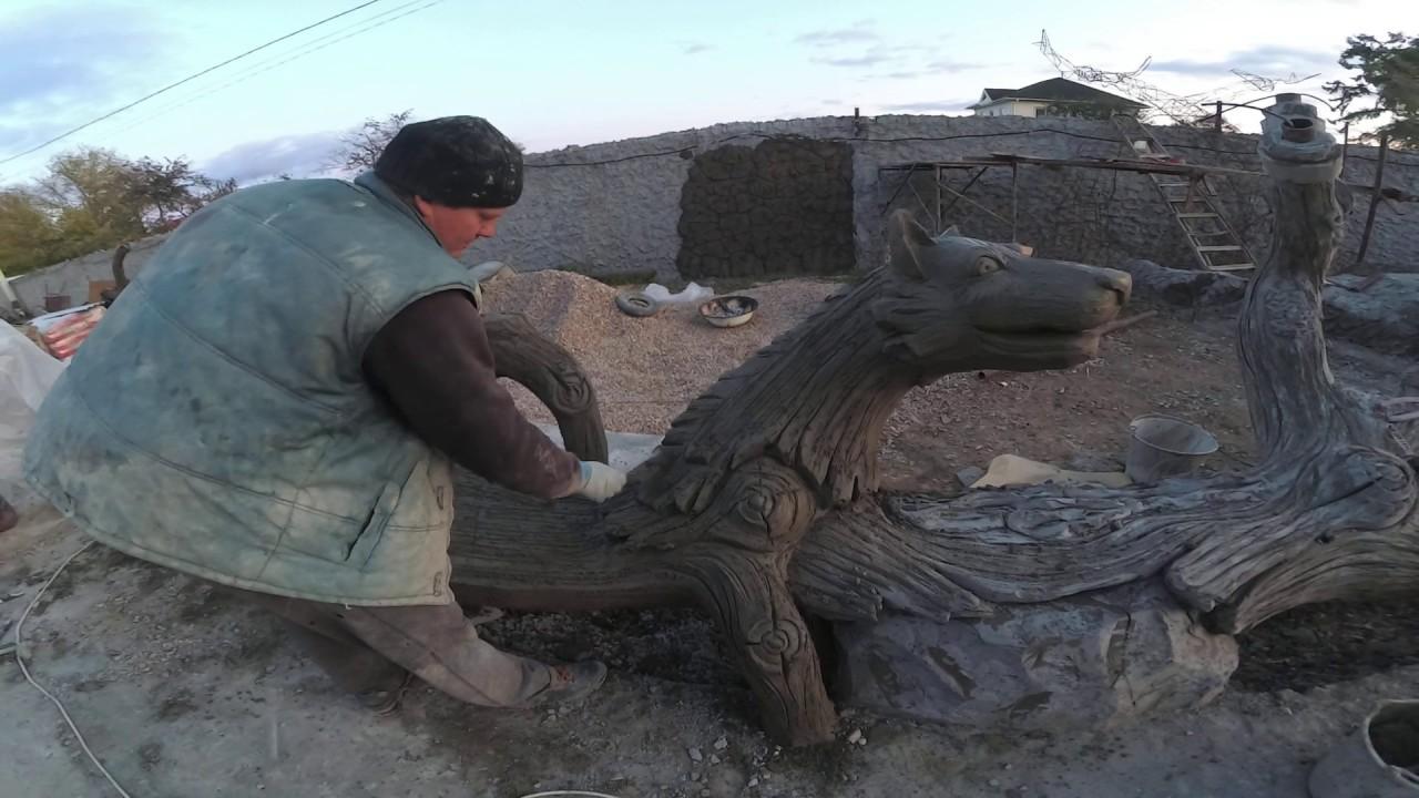 Бревна из бетона пластификатор для цементного раствора своими руками пропорции в ютубе