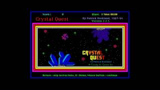 Crystal Quest - A unique, mouse-driven arcade game! (Best of the Mac)