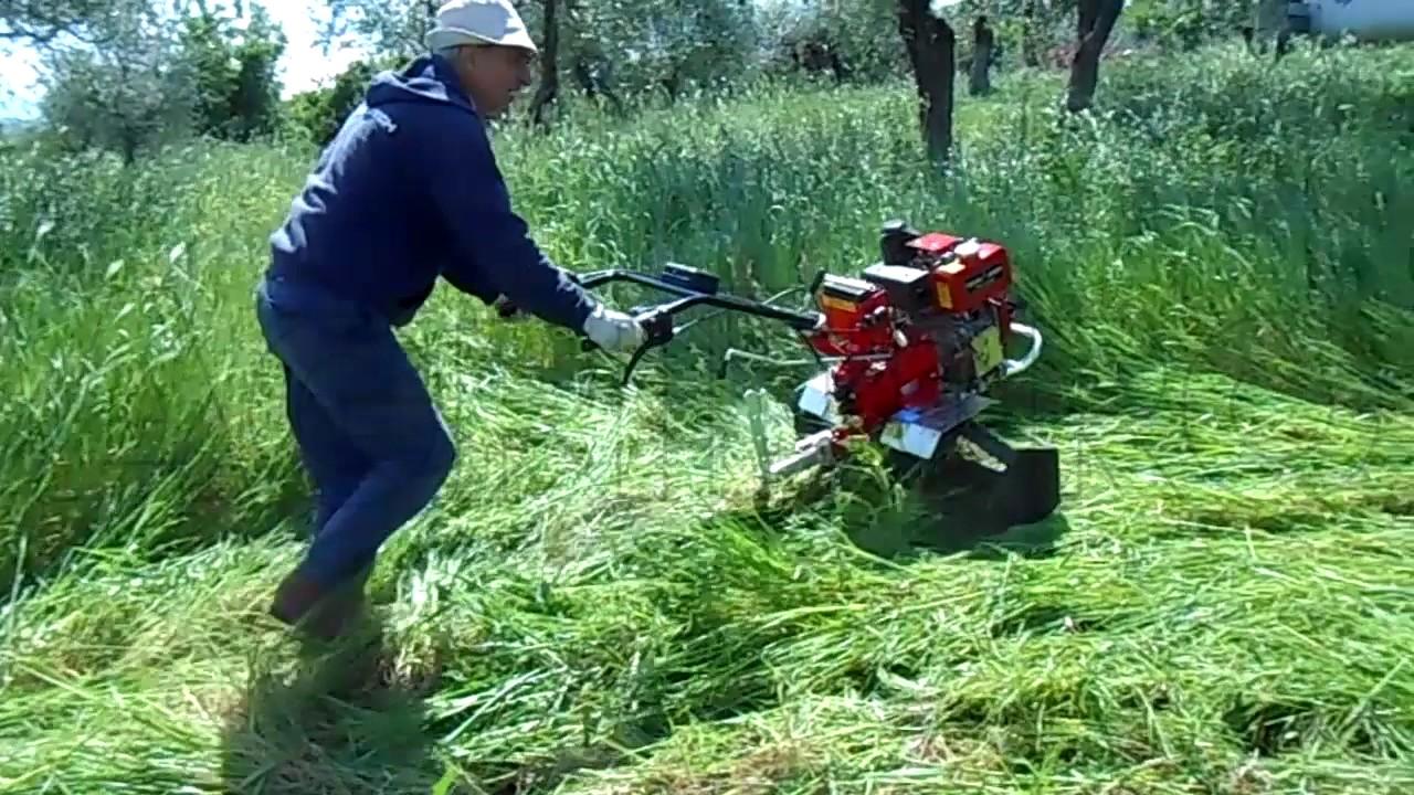 Funzionamento della motozappa ds94 con rulli tagliaerba for Motocoltivatore usato lazio