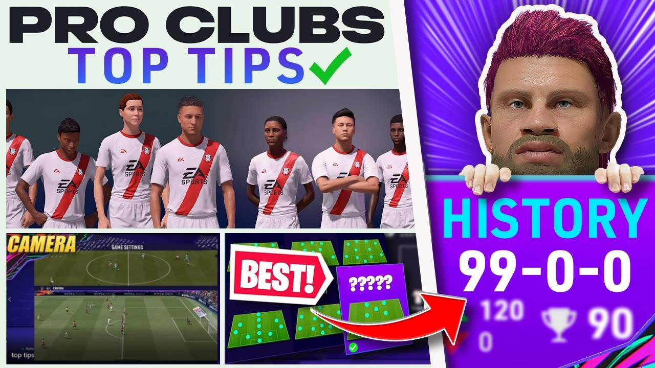 Top Tips To INSTANTLY Improve on FIFA 21 PRO CLUBS *Updated* (Best Builds, Formation & MORE!)