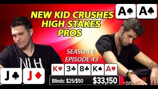 NEW KID CRUSHES THE TABLE   SEASON 6 EPISODE 43