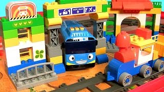 Tayo the Little Bus Blocks 꼬마버스 타요 TY2282 Same as Lego Duplo and MegaBloks タヨレおもちゃレゴ