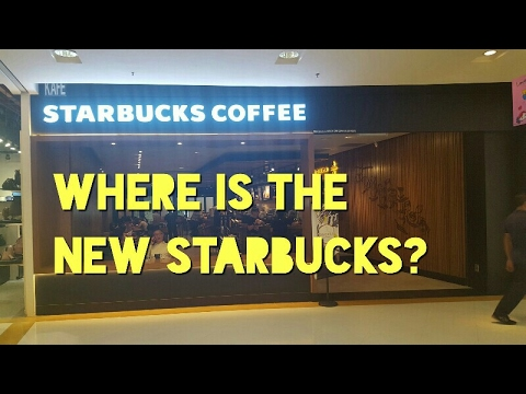 Where is the New Starbucks Coffee at Sunway Pyramid?