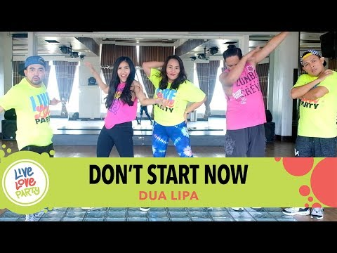 Dont Start Now by Dua Lipa | Live Love Party™ | Zumba® | Dance Fitness