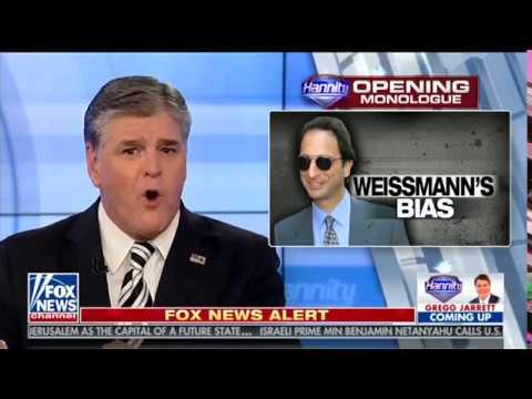 Sean Hannity Exposes Robert Mueller's 'Legal Tyrant' Andrew Weissmann