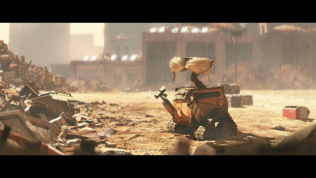 Walle full animation movie 2008