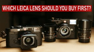 Which Leica lens should you buy first?