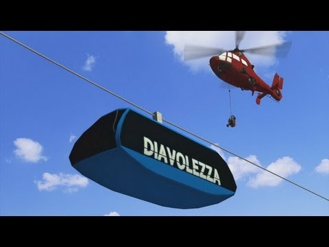 Swiss cable car rescue: 75 rescued from stranded Diavolezza gondola