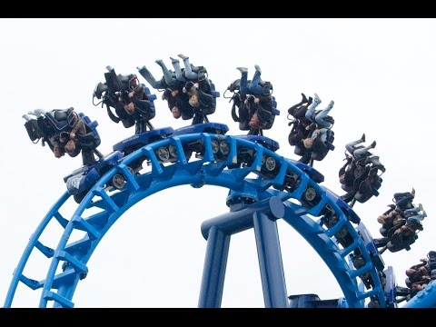 Blackpool Pleasure Beach Infusion ride roller coaster POV 1080p