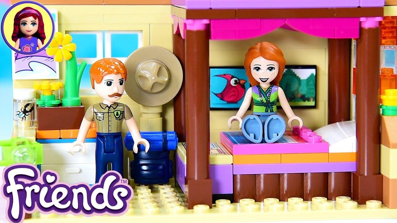 4c45d16c9db CUSTOM Parent's Room for Mia's House Lego Friends Renovation DIY Build