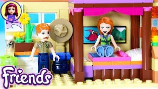 CUSTOM Parent's Room for Mia's House Lego Friends Renovation DIY Build