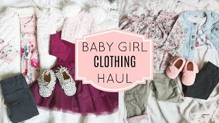 FALL BABY GIRL CLOTHING HAUL (part 2)- Old Navy, Carters & Baby Gap