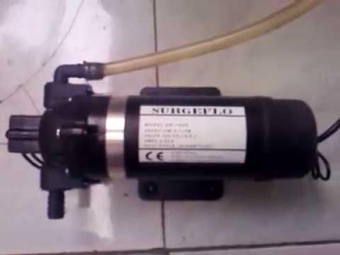 High Pressure Pump - Pompa Mini  Bertekanan ( 220V /0,55A - 5,1 lpm -160 Psi )