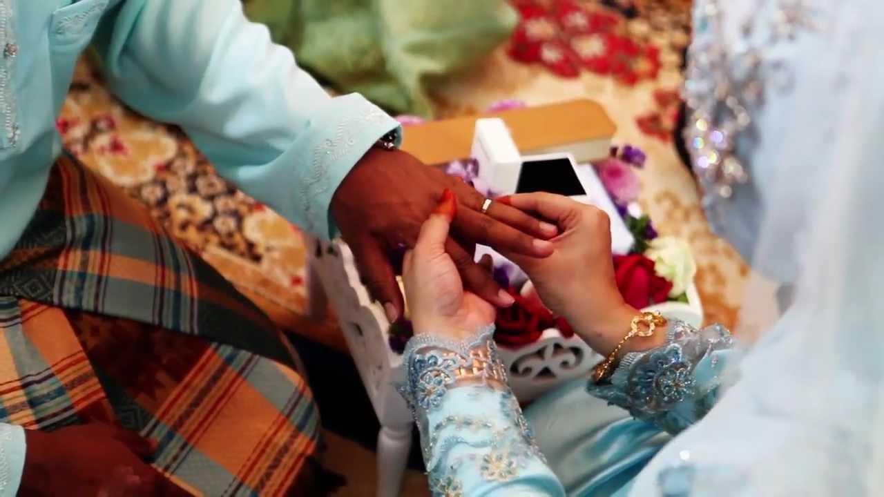 Malay Wedding Video Akad Nikah Malaysia Youtube