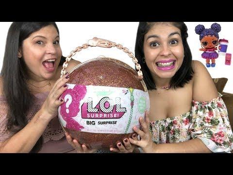 Abriendo Bola Gigante de L.O.L. Surprise con 50 Sorpresas  Muñecas, Bebés y Accesorios
