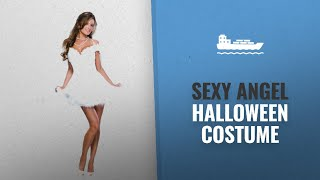 Sexy Angel Halloween Costume Ideas: Secret Wishes Heaven Sent Costume, White, X-Small