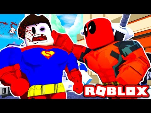 SUPERHEROES Fight Each Other in Roblox! (Roblox Superheroes) - 동영상