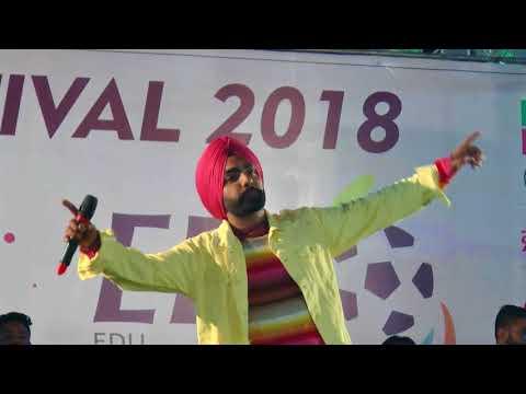 Ammy Virk Rudka Kabaddi Cup Live Show Latest Punjabi Songs 2018