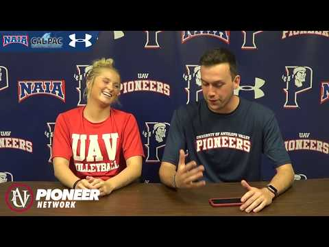 UAV Women's Volleyball Post Game Interview 9/22/2017