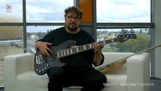 Federico Malaman Introduces Mayones Jabba Mala 5 Signature Bass