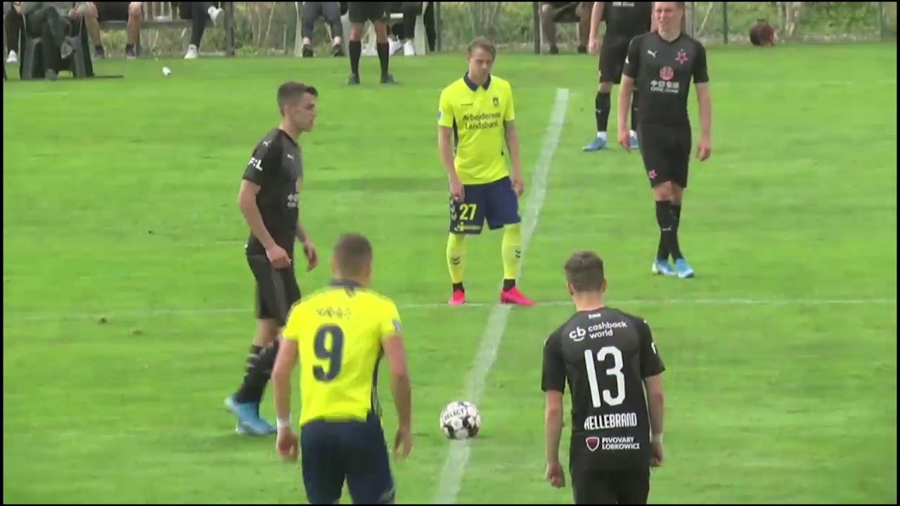 Highlights Br U00f8ndby Vs Slavia Praha YouTube