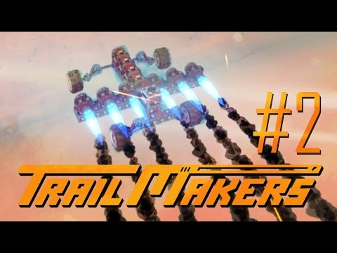 Trailmakers - FLYING SUPER JET CAR!! (Part 2 - Trail makers Game / Gameplay)