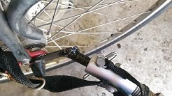 Make a bicycle trailer hitch coupler