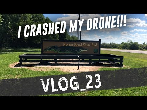 I crashed my drone!!!