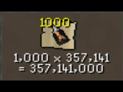 Loot From 1000 Dragon Implings (368M Spent)