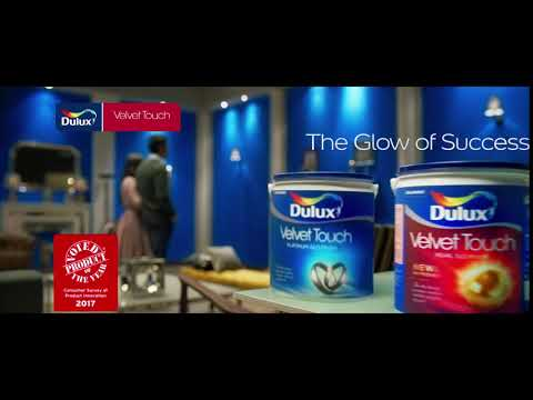 Dulux Velvet Touch - The Glow of Success