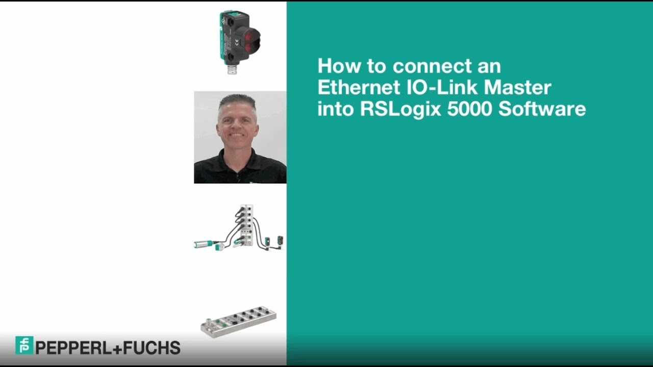 How to Connect an Ethernet IO-Link Master into RSLogix 5000 Software
