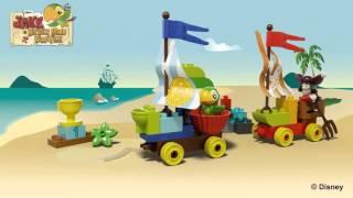 Видео обзоры LEGO Duplo Джейк Гонки на пляже