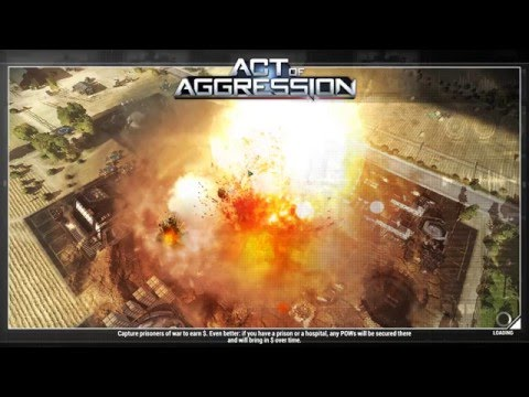 Act of Aggression Cinematic: Classic Terminator Spam (Multiplayer Gameplay)