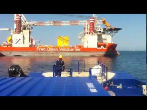 SEAZIP OFFSHORE SERVICE - Crew transfer between CTV and Jack up